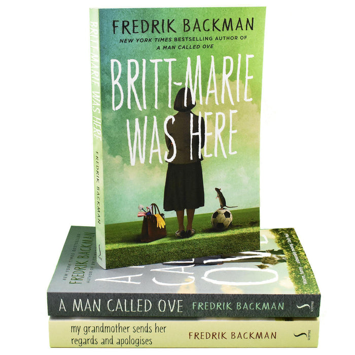 Fredrik Backman Collection 3 Books Collection Set - Young Adult - Paperback - Books2Door