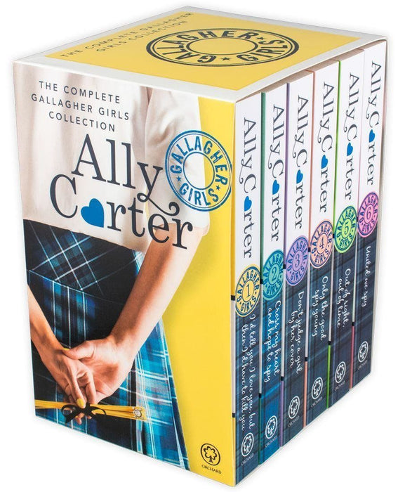 Gallagher Girls 6 Book Box Set - Young Adult - Paperback - Ally Carter Young Adult Orchard