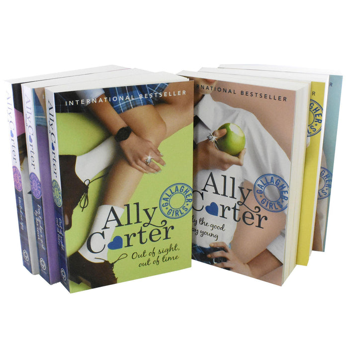 Gallagher Girls 6 Book Box Set - Young Adult - Paperback - Ally Carter - Books2Door