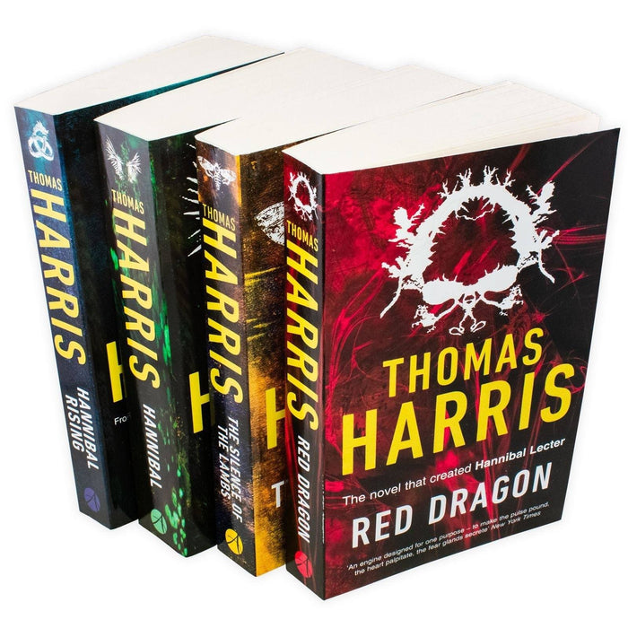 Hannibal Series 4 Book Collection - Adult - Paperback - Thomas Harris Young Adult Arrow Books