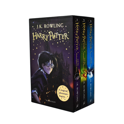 Harry Potter Magical Adventure Begins 3 Books Box Set Collection - Young Adult - Paperback By J.K Rowling Young Adult Bloomsbury Childrens Books