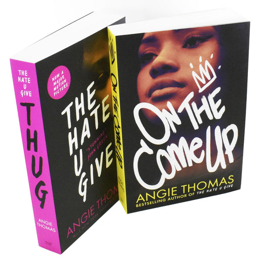 Hate U & On Come 2 Books Collection Box Set - Young Adult - Paperback - Angie Thomas - Books2Door