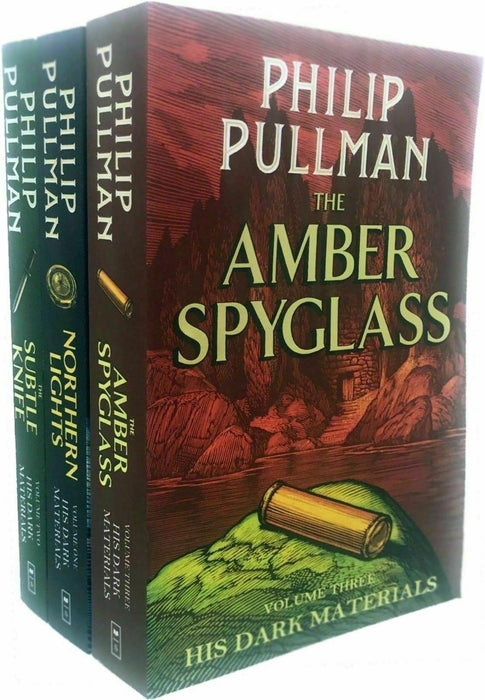 His Dark Materials Series 3 Books Collection Set - Young Adult - Paperback - Philip Pullman - Books2Door