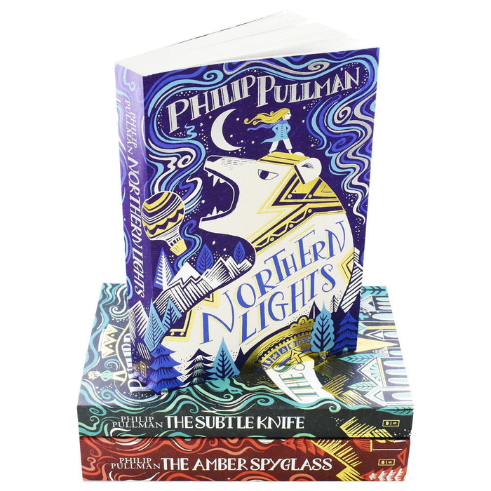 His Dark Materials Trilogy 3 Books Collection Set by Philip Pullman - Young Adult - Paperback - Books2Door