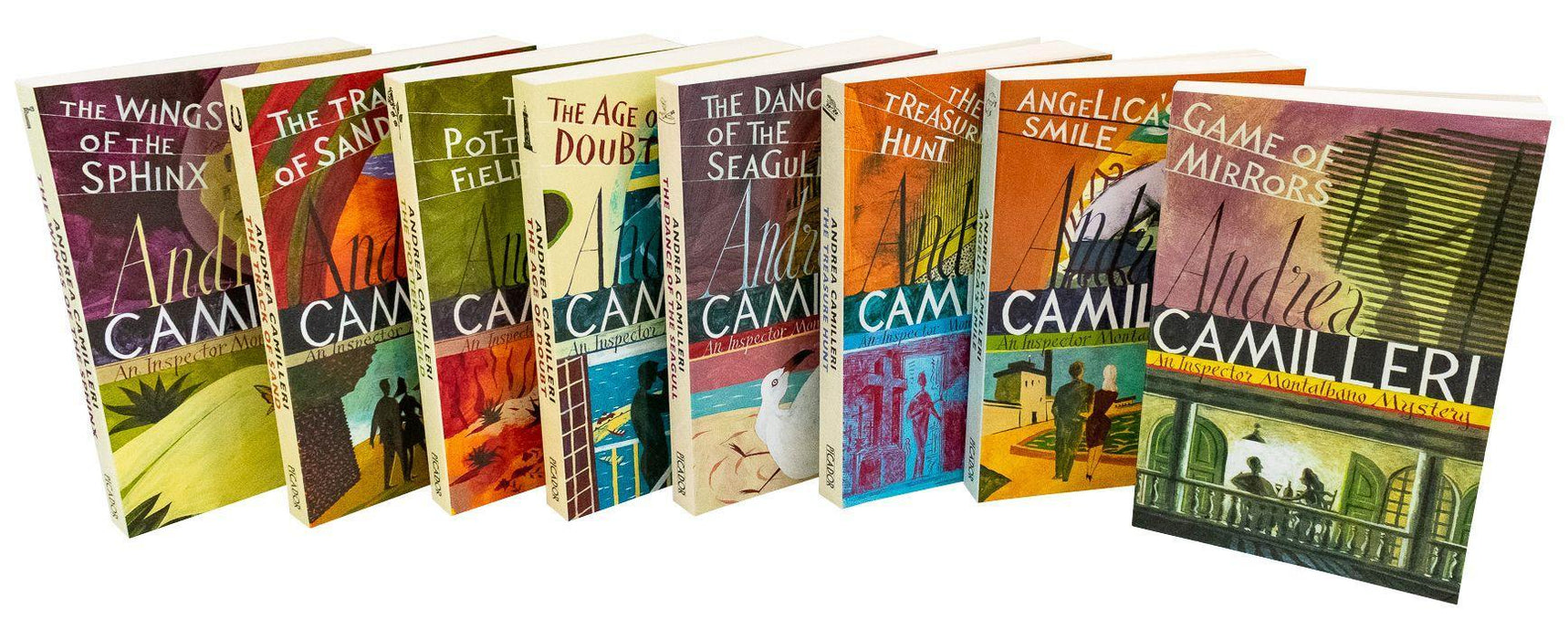 Inspector Montalbano Collection Andrea Camilleri 8 Books Set - Young Adult - Paperback - Books2Door