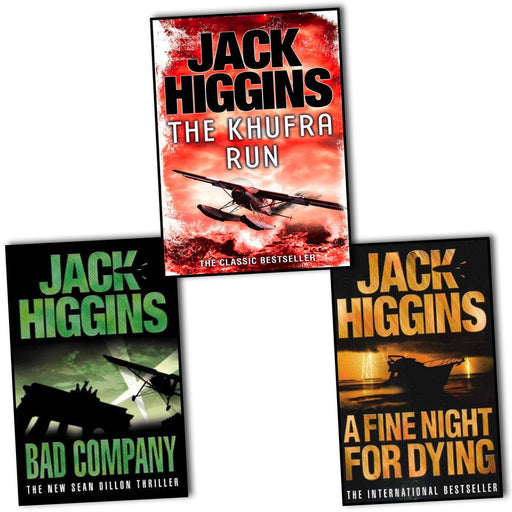 Young Adult - Jack Higgins 3 Books Collection - Adult - Paperback