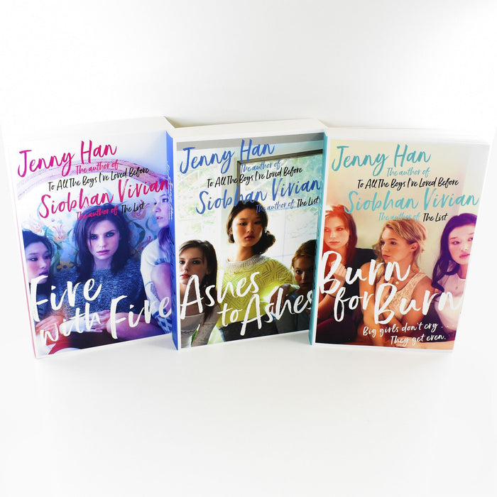 Jenny Han Siobhan Vivian The Burn for Burn Trilogy 3 Books Young Adult Collection Paperback Set - Books2Door