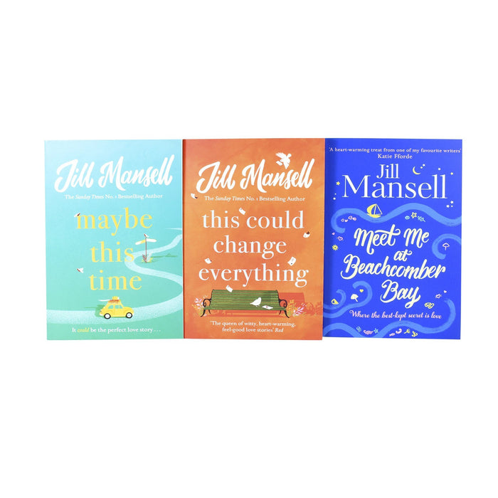 Young Adult - Jill Mansell Collection 3 Books Set (This Could Change Everything, Maybe This Time, Meet Me At Beachcomber Bay) - Adult - Paperback