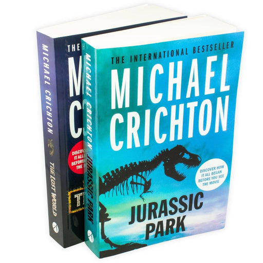 Jurassic Park 2 Book Collection - Young Adult - Paperback - Michael Crichton - Books2Door
