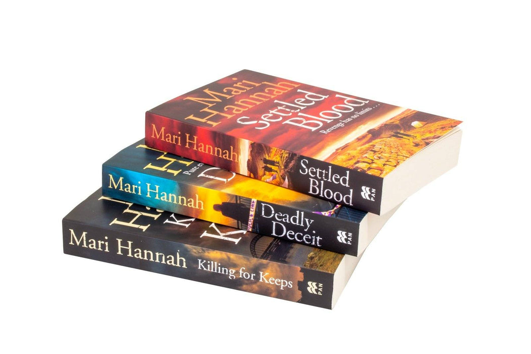 Kate Daniels 3 Books Collection Set - Fiction - Paperback by Mari Hannah - Books2Door