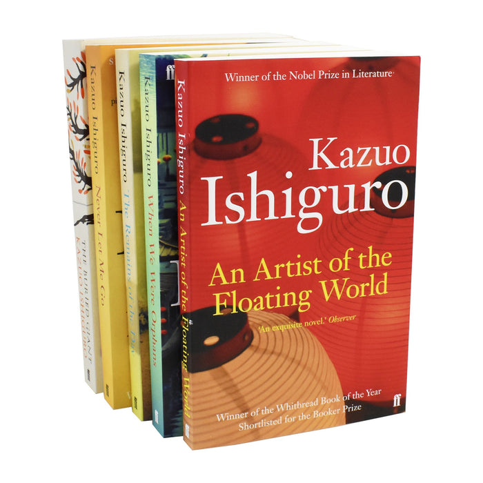 Kazuo Ishiguro Artist of the Floating World 5 Books - Paperback - Young Adult Young Adult Faber & Faber
