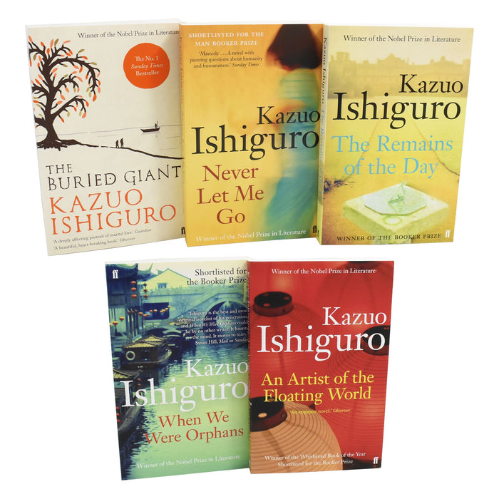 Young Adult - Kazuo Ishiguro Artist Of The Floating World 5 Books - Paperback - Young Adult