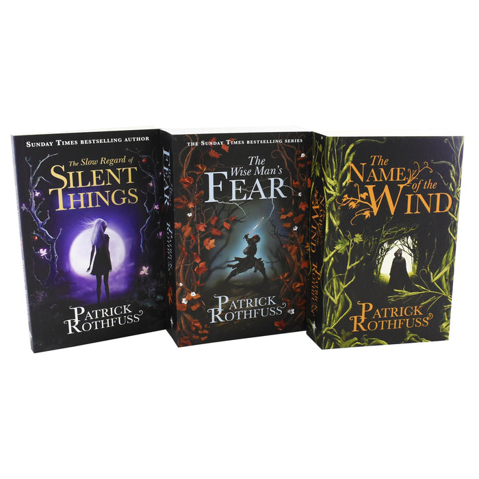 Young Adult - Kingkiller Chronicle Patrick Rothfuss Collection 3 Books Set - Paperback - Fiction