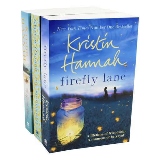 Young Adult - Kristin Hannah 3 Books Collection Set (The Nightingale, The Great Alone & Firefly Lane) - Paperback