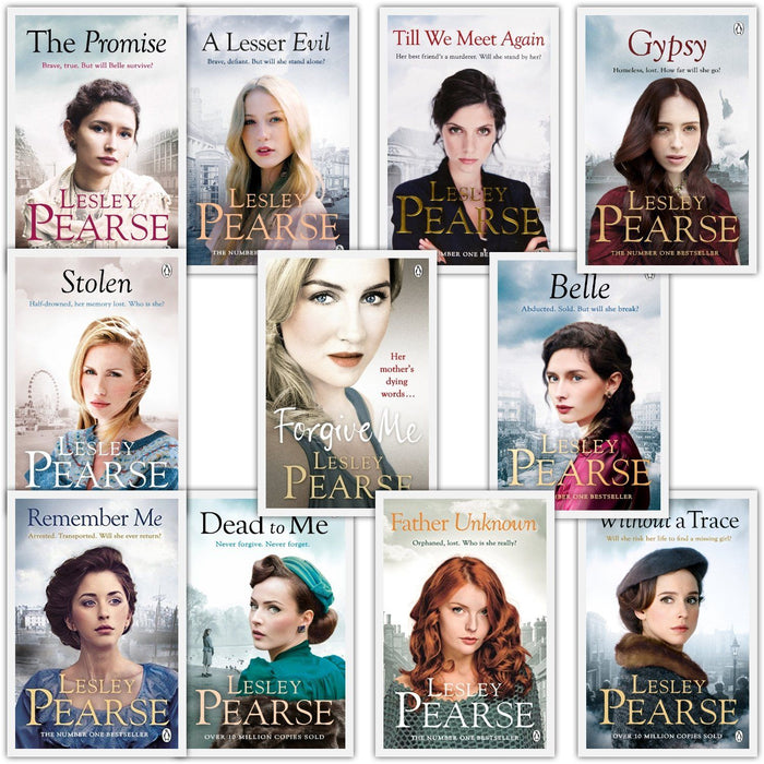 Young Adult - Lesley Pearse 11 Books Collection Set Stolen, Without A Trace, Forgive Me, Belle & MORE – Adult - Paperback