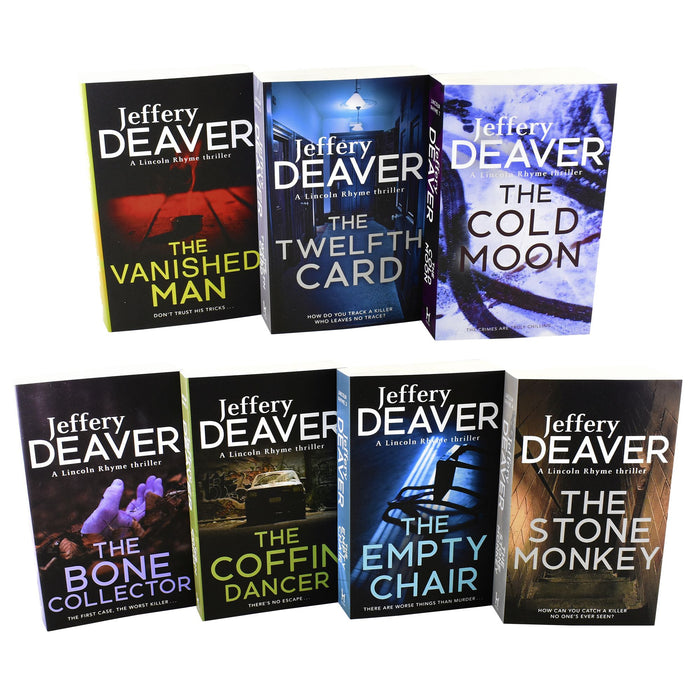 Young Adult - Lincoln Rhyme Thrillers Series - 7 Books Collection - Young Adult - Paperback - Jeffery Deaver