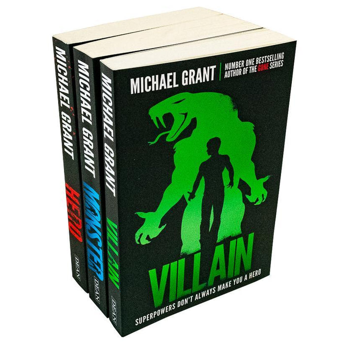 Michael Grant The Monster Series 3 Books Collection Set - Young Adult - Paperback - Books2Door
