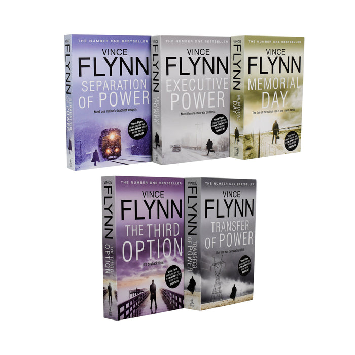 Mitch Rapp Series Vince Flynn Collection 5 books Set - Young Adult - Paperback Young Adult Simon & Schuster Ltd