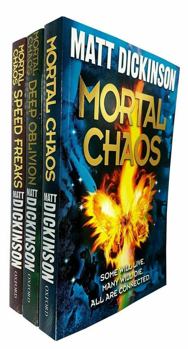 Mortal Chaos Series 3 Book Collection - Young Adult - Paperback - Matt Dickinson Young Adult Oxford University Press