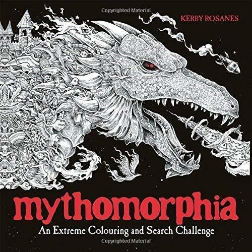 Mythomorphia An Extreme Colouring Book & Search Challenge - Young Adult - Paperback - Kerby Rosanes - Books2Door