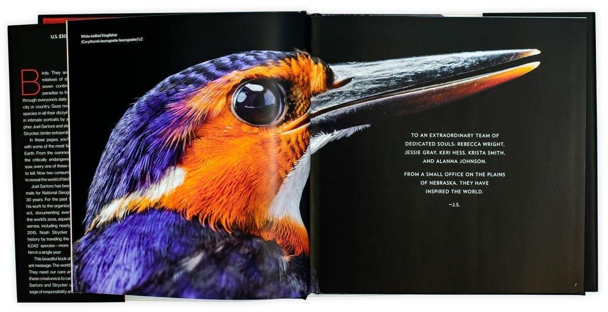 National Geographic Birds of the Photo Ark - Young Adult - Hardback - Joel Sartore & Noah Strycker - Books2Door