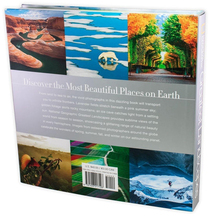National Geographic Greatest Landscapes: Stunning Photographs that Inspire and Astonish - Young Adult - Hardback - George Steinmetz - Books2Door