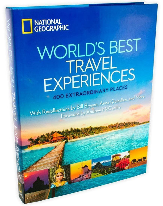 National Geographic Worlds Best Travel Experiences: 400 Extraordinary Places - Books2Door