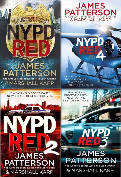 NYPD Red 4 Books Collection - Young Adult - Paperback - James Patterson - Books2Door