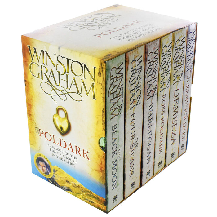 Poldark Series 1 & 2 - 6 Books Box Set - Young Adult - Paperback - Winston Graham - Books2Door
