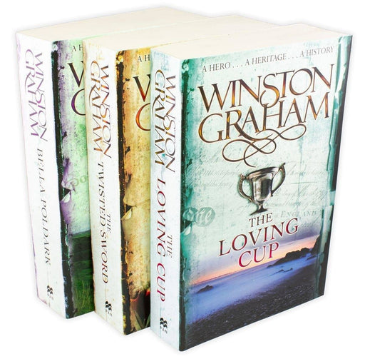 Poldark Series 3 Book Collection - Books 10-12 - Adult - Paperback - Winston Graham Young Adult Pan Macmillan