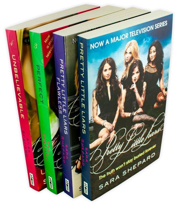 Pretty Little Liars 4 Books Series 1 Set Pack - Young Adult - Paperback - Sara Shepard - Books2Door