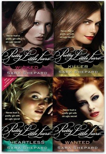 Pretty Little Liars 4 Books Series 2 Set Pack - Young Adult - Paperback - Sara Shepard - Books2Door