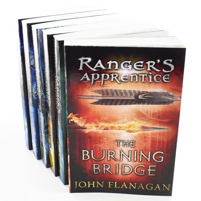 Rangers Apprentice Series 1 - 6 Books Young Adult Set Paperback By John Flanagan - Books2Door