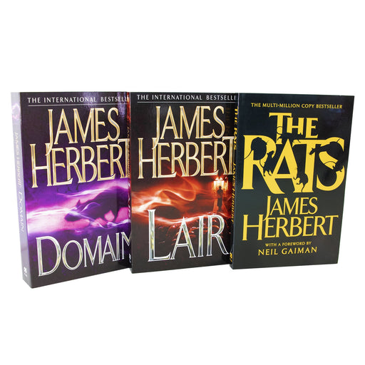 Young Adult - Rats Trilogy 3 Books Collection - Adult -  Paperback Set By James Herbert