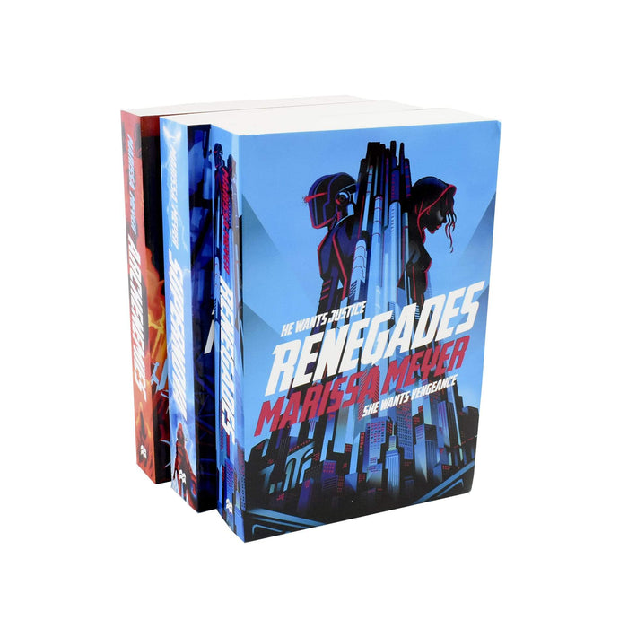 Young Adult - Renegades Series 3 Books Collection - Young Adult - Paperback - Marissa Meyer