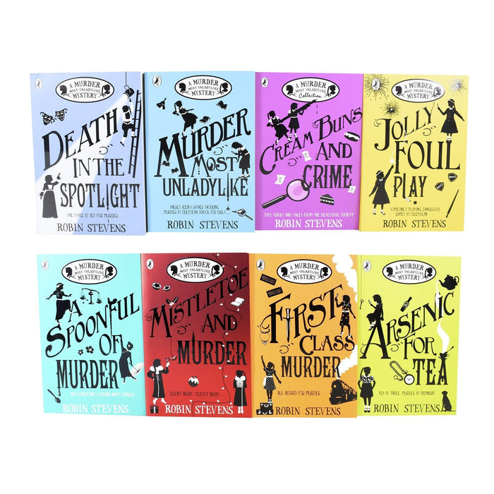 Young Adult - Robin Stevens A Murder Most Unladylike Mystery 8 Books Set - Fiction - Paperback