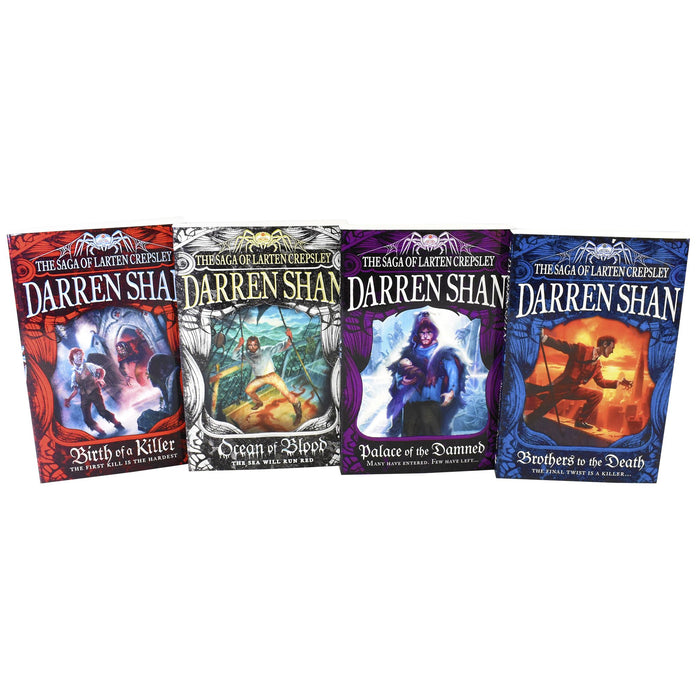Young Adult - Saga Of Larten Crepsley 4 Books - Adult - Collection Paperback Set By Darren Shan