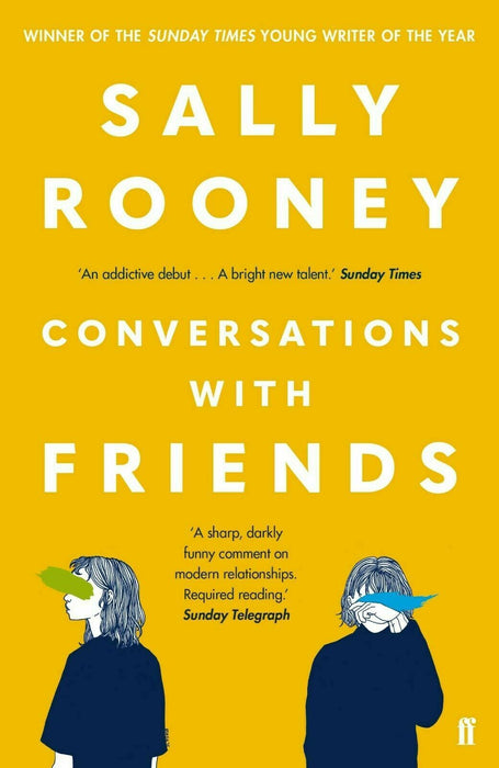 Sally Rooney Conversations with Friends Paperback Young Adult Faber & Faber