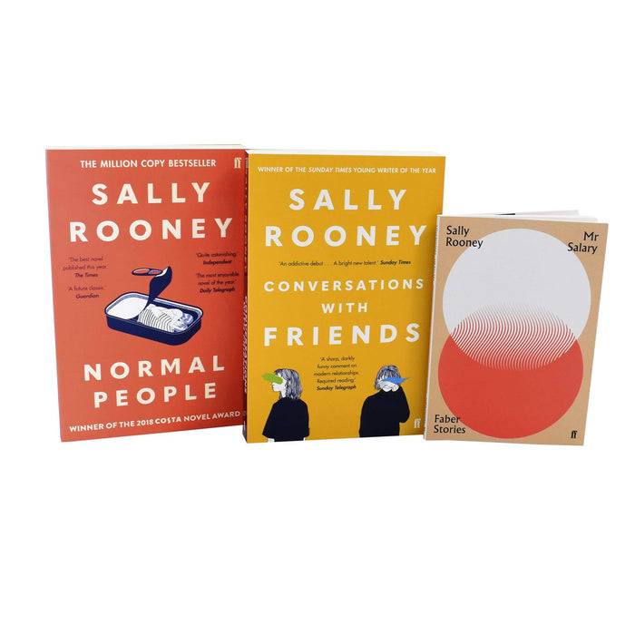 Sally Rooney Normal People 3 Books Collection- Adult Fiction - Paperback Young Adult Faber & Faber