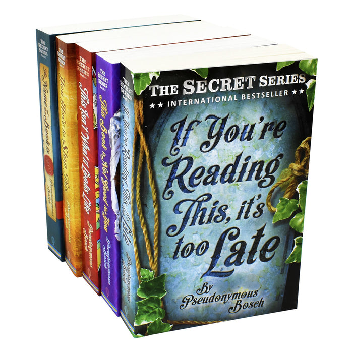 The Usborne Secret Series 5 Books - Adult - Collection Paperback Set By Pseudonymous Bosch Young Adult Usborne