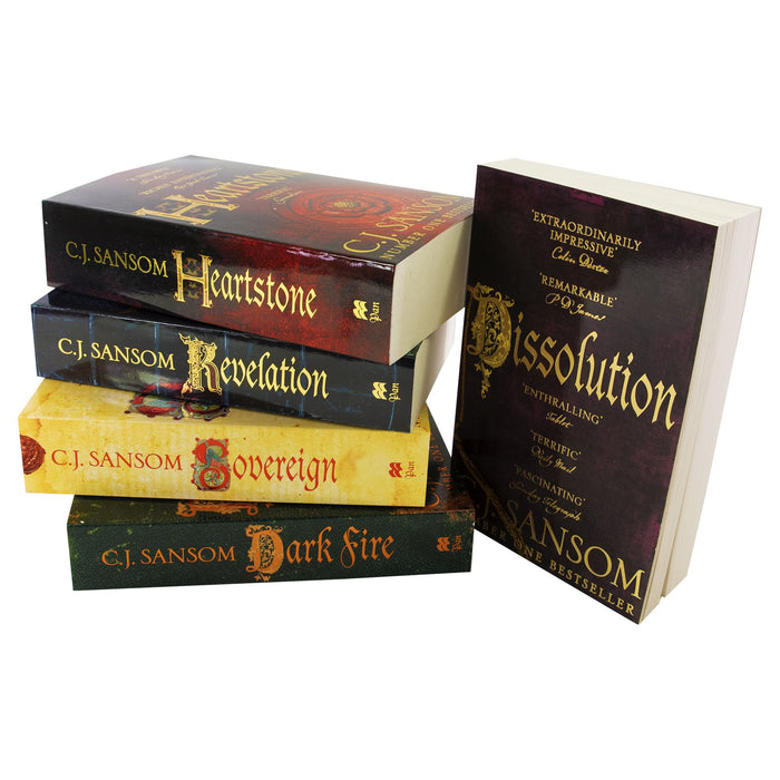 Young Adult - Shardlake Series 5 Books - Young Adult - Collection Paperback Set By C J Sansom