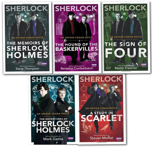 Young Adult - Sherlock Holmes Collection 5 Book Set - Adult - Paperback By Sir Arthur Conan Doyle