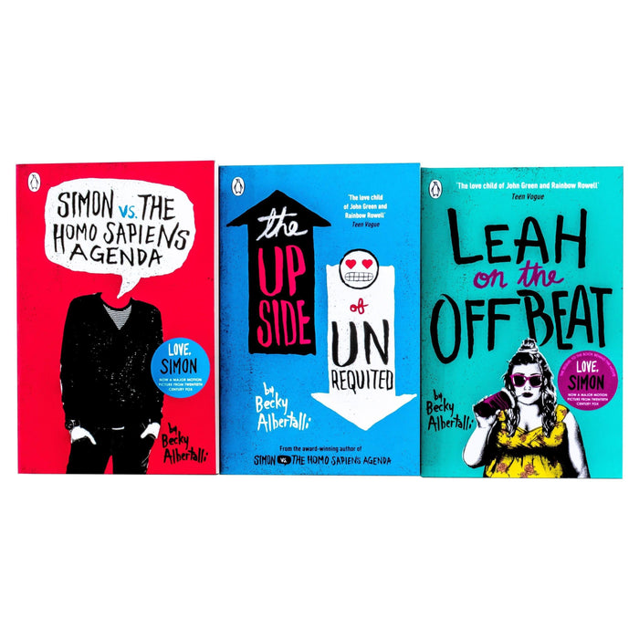 Simon vs. the Homo Sapiens Agenda 3 Books - Young Adult - Paperback - Becky Albertalli - Books2Door