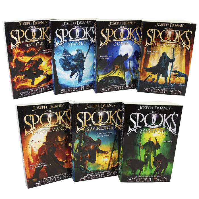 Young Adult - Spooks Wardstone Chronicles 1-7 Books - Young Adult - Paperback By Joseph Delaney