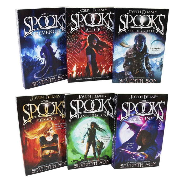 Young Adult - Spooks Wardstone Chronicles 8-13 Books - Young Adult - Paperback By Joseph Delaney