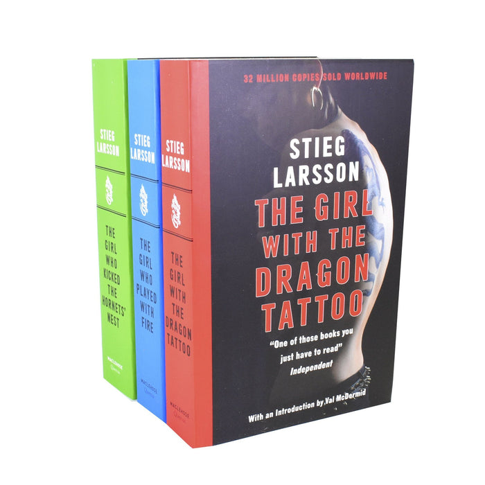 Young Adult - Stieg Larssons Millennium Series 3 Books Collection Box Set (Books 1 To 3) – Adult – Paperback - David Lagercrantz