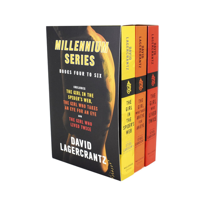 Young Adult - Stieg Larssons Millennium Series 3 Books Collection Box Set (Books 4 To 6) – Adult – Paperback - David Lagercrantz