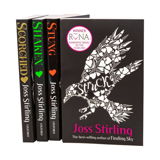 Struck Series 4 Book Collection - Young Adult - Paperback - Joss Stirling - Books2Door