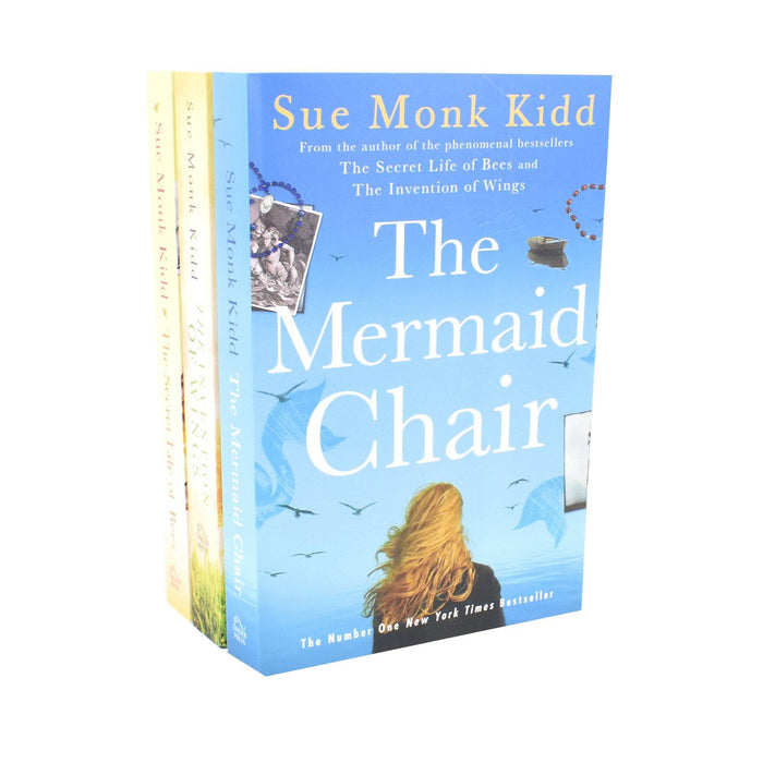 Young Adult - Sue Monk Kidd Collection 3 Books Set (The Invention Of Wings, The Secret Life Of Bees, The Mermaid Chair) - Adult - Paperback - Sue Monk