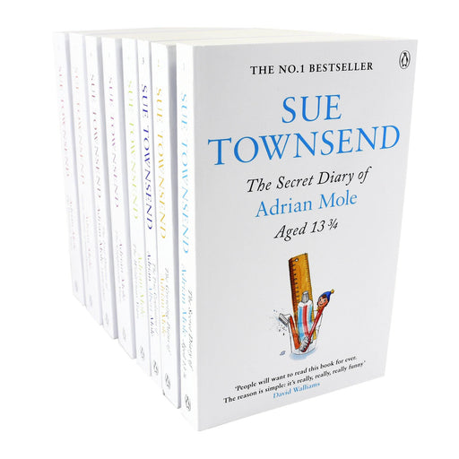 Young Adult - Sue Townsend Adrian Mole 8 Books Collection - Paperback - Young Adult